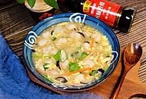 酸辣鱼丸汤 | 酸辣汤的升级版#吃货恒行 开挂双11#的做法