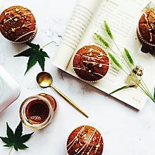 """焦糖奶茶蛋糕——#在""""家""""打造ins风美食#"""