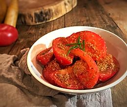 芝麻拌番茄的做法