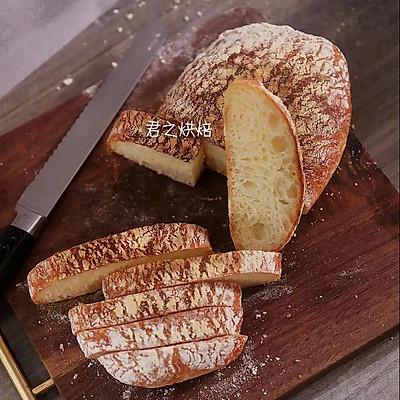 完全不用揉的面包,对,完全不用揉! | Ciabatta