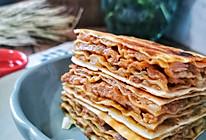 一叠到底就能做的千层牛肉馅饼的做法