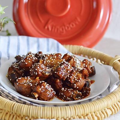 坤博砂锅——糖醋排骨