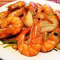 大虾烧白菜—超好吃的经典菜的做法图解5