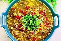 酸汤白菜肥牛卷的做法