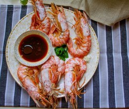 清蒸大虾— —瘦身高蛋白营养餐的做法
