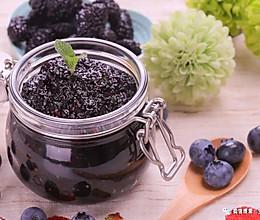桑葚蓝莓果酱 宝宝辅食食谱的做法