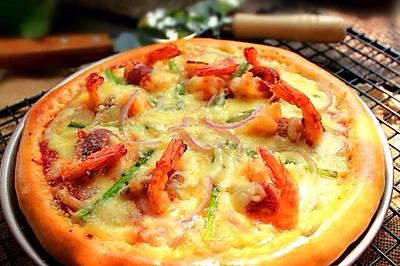 披萨之腊肉卷大虾