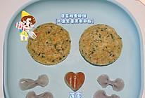菠菜鸡蛋虾饼的做法