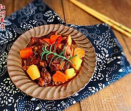 红焖羊肉#美食美刻 乐享美极#的做法