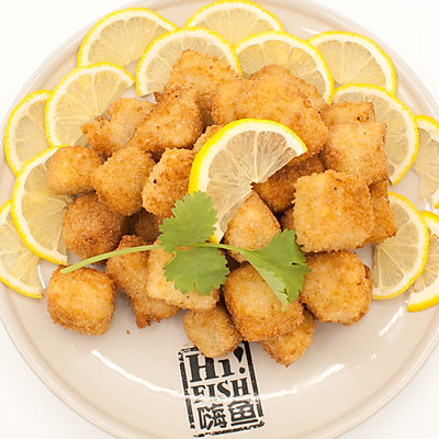 【派对必备菜】香酥三文鱼