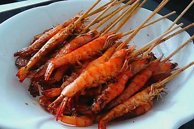麻辣串串虾灬烤箱版