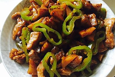 永川大头菜小炒肉
