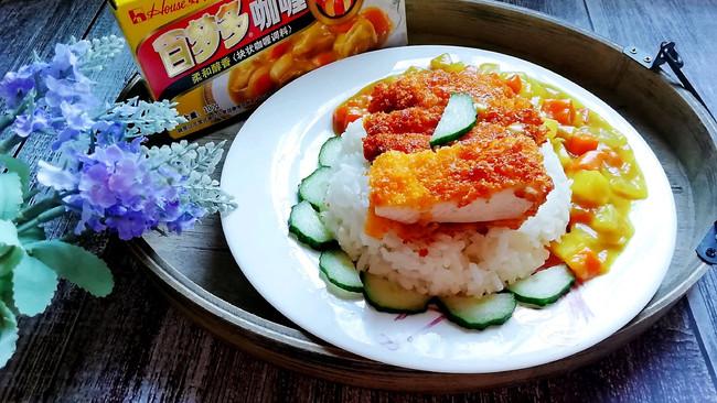 咖喱鸡排饭#百梦多圆梦季#的做法
