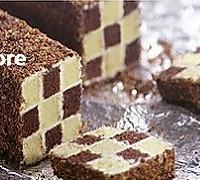 双色棋格奶油蛋糕的做法图解25