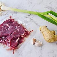 #钟于经典传统味#葱爆牛肉片的做法图解1