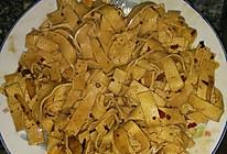 香辣豆腐皮的做法