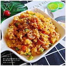 厨房小白菜谱#网红番茄饭