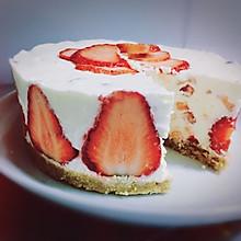 草莓冻奶酪芝士蛋糕