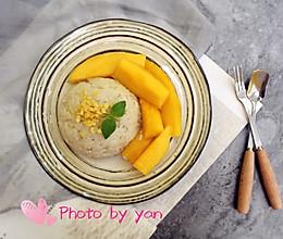 椰浆芒果糯米饭的做法