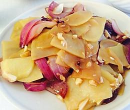 洋葱土豆片的做法