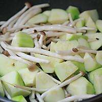 丝瓜花蛤菌菇汤的做法图解5