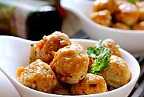 甜辣香菇藕圆的做法