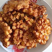 #香酥地瓜饼 #炸串坊地瓜饼 #零食 #