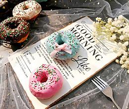 色彩斑斓的甜甜圈的做法