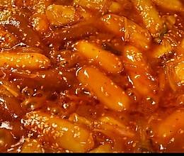 炒年糕丨糯叽叽,超好吃!的做法