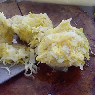 酸菜猪肉水饺的做法 步骤6