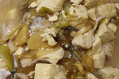 胖头鱼炖豆腐粉条