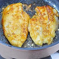 一食半刻   香蒜蜂蜜煎鸡扒的做法图解6