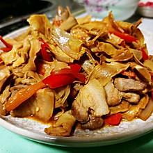 锦娘制——五花肉炒干笋