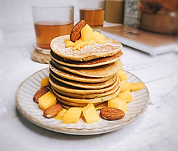 香蕉松饼(营养均衡的早餐)的做法