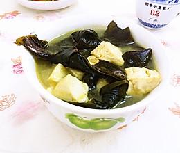 海带结豆腐汤的做法