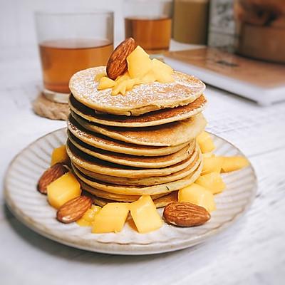 香蕉松饼(营养均衡的早餐)