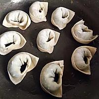 香煎荠菜馄饨的做法图解11
