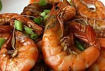 简易油煎大虾的做法