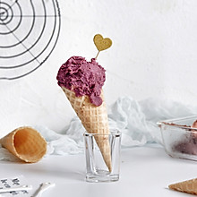 紫薯牛油果冰激凌
