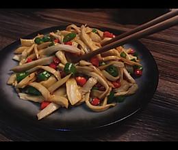 耗油杏鲍菇——快手下饭菜的做法