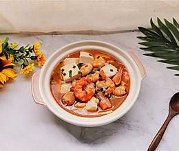 #营养小食光#超快手鲜嫩可口‼️低脂【虾仁豆腐羹】的做法
