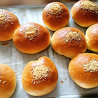 椰香肉松小面包的做法图解9