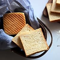 健康麦麸吐司#美的FUN烤箱.焙有FUN儿#