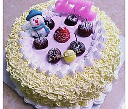 八寸奶油蛋糕的做法