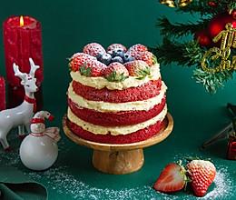 圣诞红丝绒蛋糕的做法