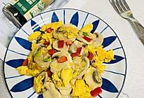 #仙女们的私藏鲜法大PK#口蘑炒蛋的做法