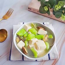 丝瓜蛤蜊豆腐汤#秋天怎么吃#