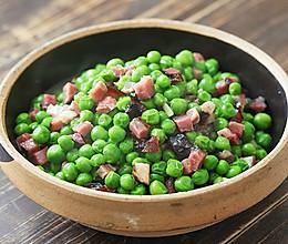 【腊肉两吃】这菜红配绿,谁吃谁服气!的做法