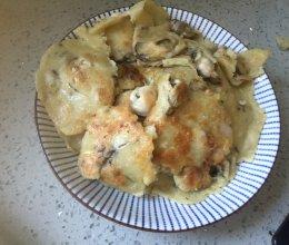 海蛎子饼的做法