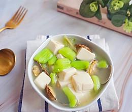 丝瓜蛤蜊豆腐汤#秋天怎么吃#的做法
